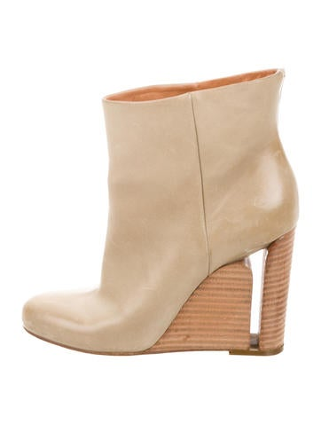 Maison Margiela Wedge Ankle Boots None