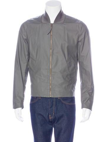 Maison Margiela Coated Bomber Jacket None