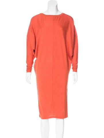Maison Margiela Wool Dolman Sleeve Dress None