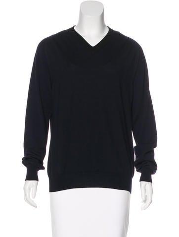 Maison Margiela V-neck Wool Sweater None