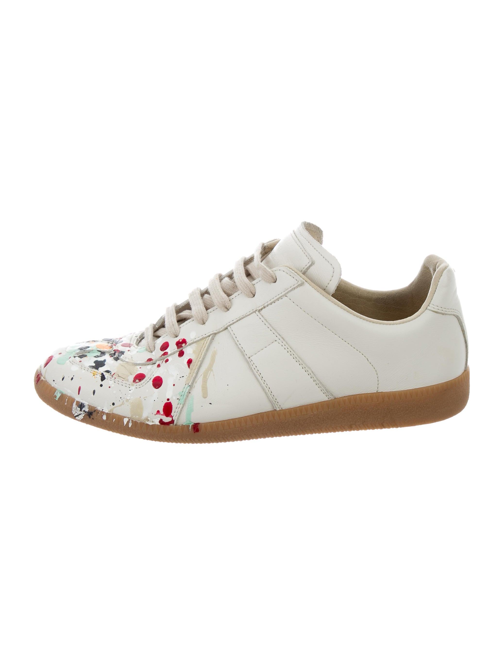 Paint Splatter Shoes Men