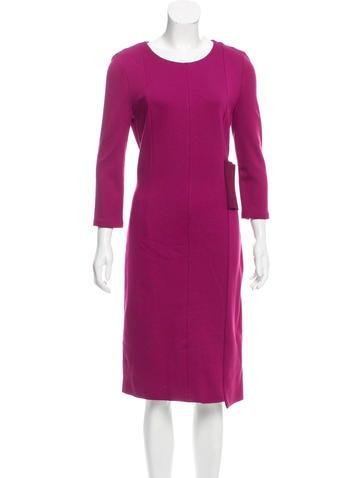 Maison Margiela Midi Sheath Dress w/ Tags None