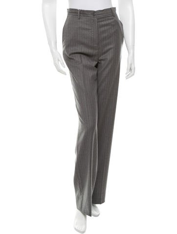 Maison Martin Margiela Pinstripe Wool Pants w/ Tags None