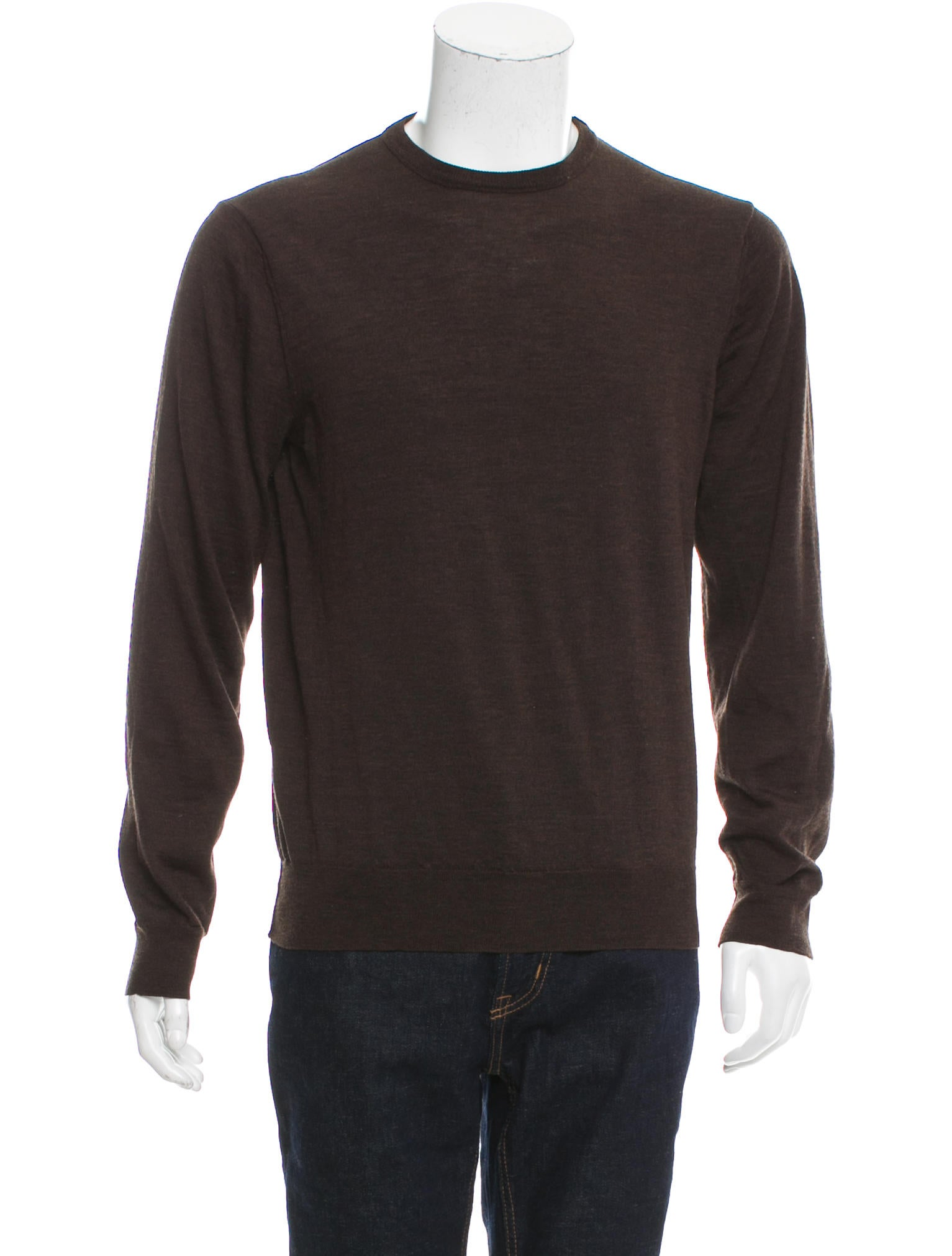 Maison Margiela Vintage Merino Wool Sweater - Clothing - MAI31123 ...