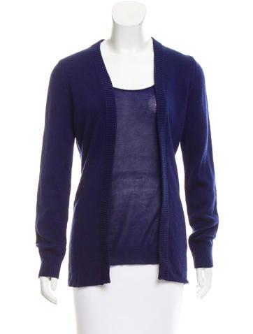 Maison Margiela Silk Long Sleeve Sweater None
