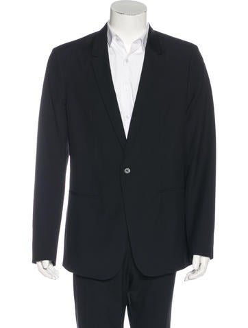 Maison Margiela Single-Button Wool Blazer None