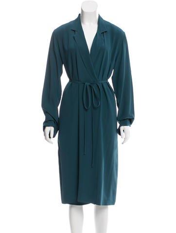 Maison Margiela Silk Wrap Dress None