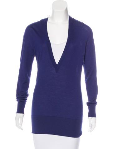 Maison Margiela Cashmere Long Sleeve Sweater None