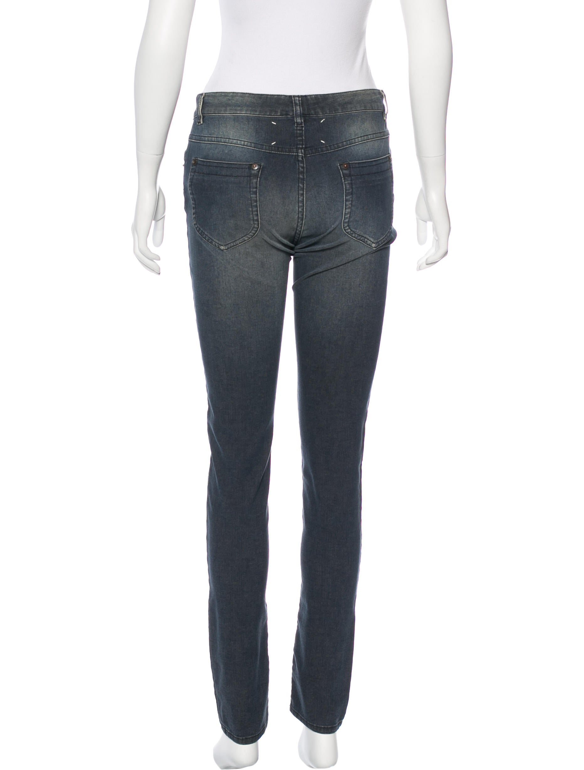 Maison margiela mid rise skinny jeans w tags clothing for 10 moulmein rise la maison