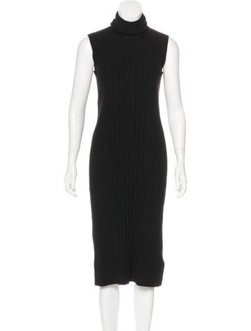 Maison Margiela Sleeveless Sweater Dress None