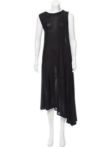 Maison Margiela Knit Asymmetrical Dress None