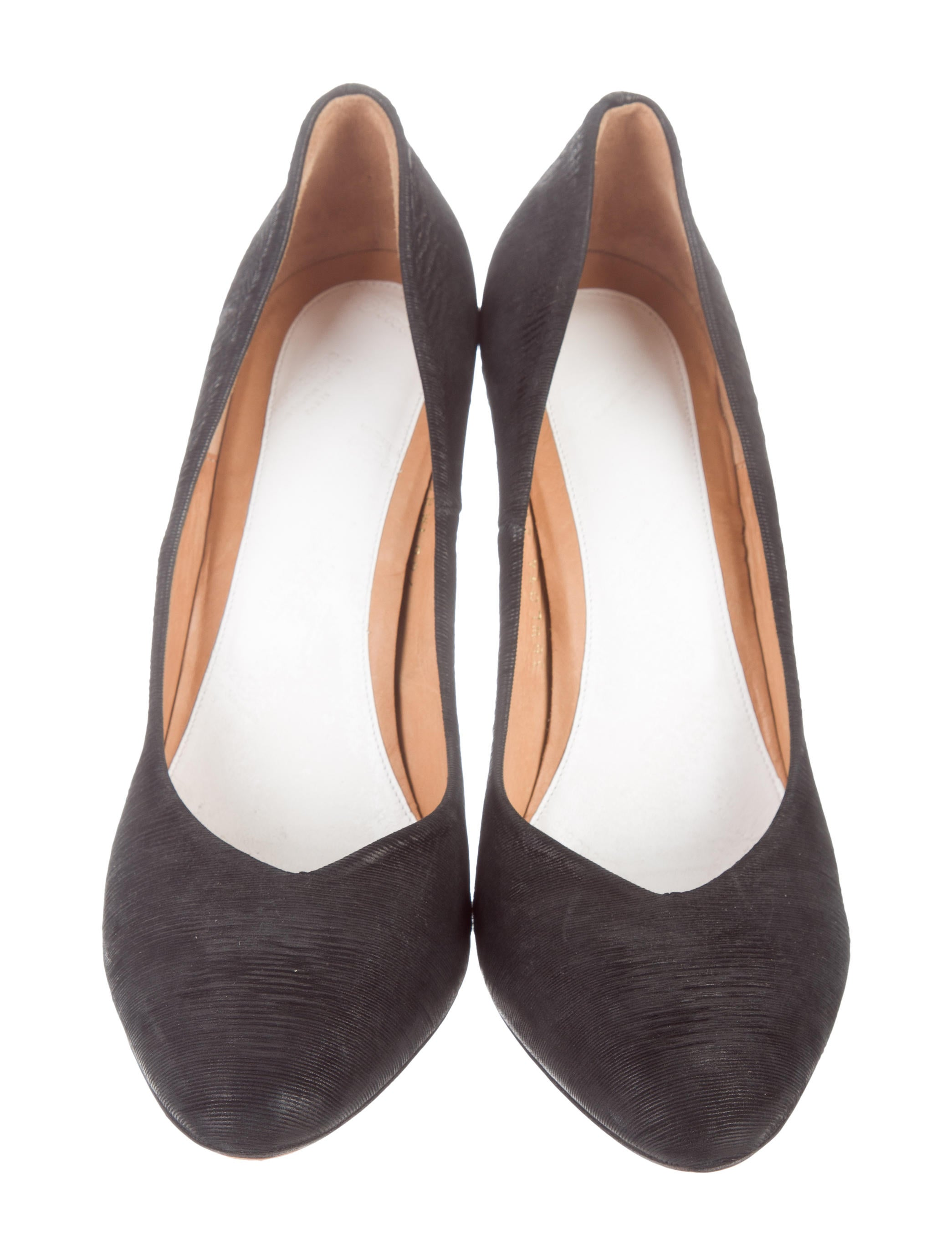 Maison Margiela Relish Pointed-Toe Pumps