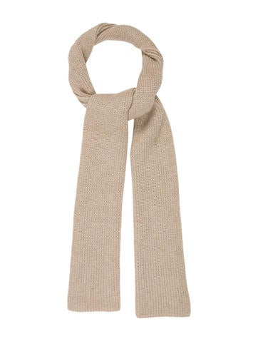Maison Margiela Solid Rib Knit Scarf None