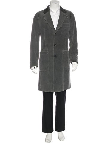 Maison Margiela Three-Button Overcoat None