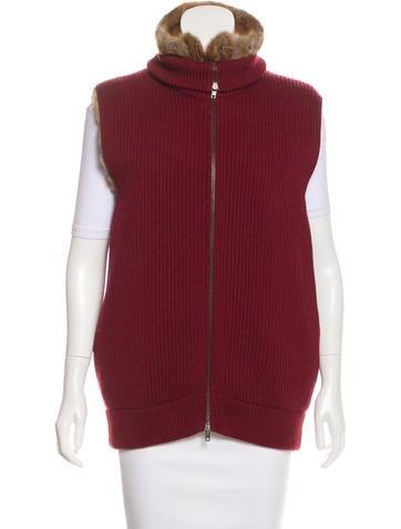 Maison Margiela Wool & Fur Vest None