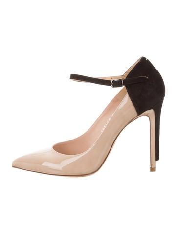 Maison Margiela Patent Leather Ankle Strap Pumps w/ Tags None