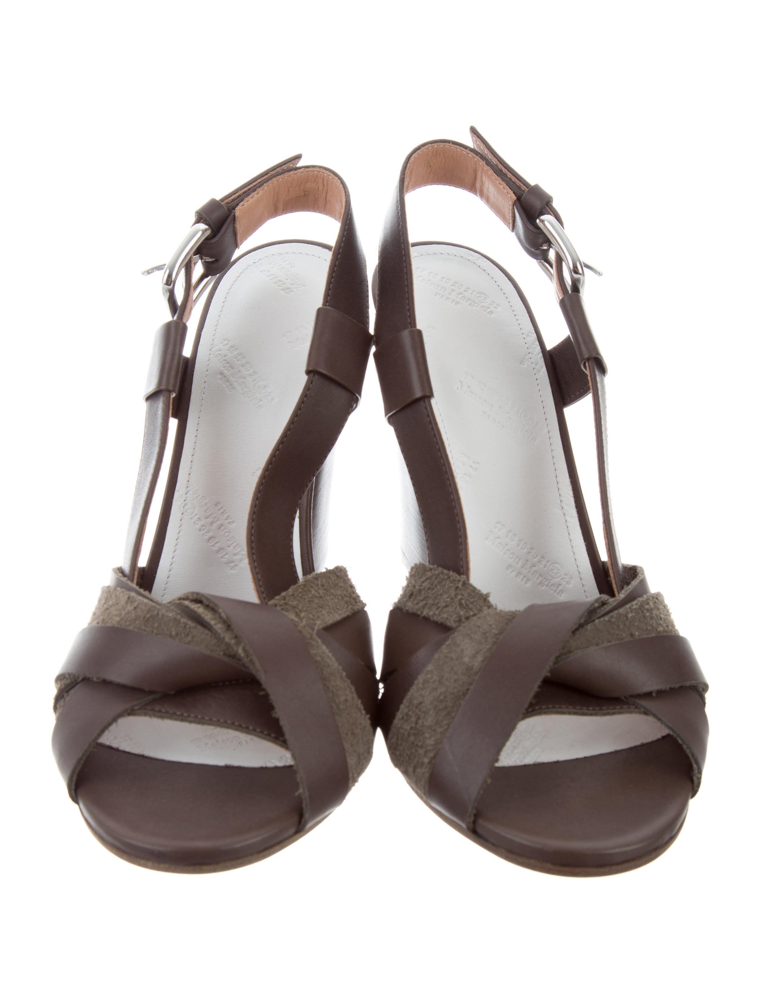 discount good selling Maison Margiela Twetty Colorblock Sandals w/ Tags sast online rkIacrb9