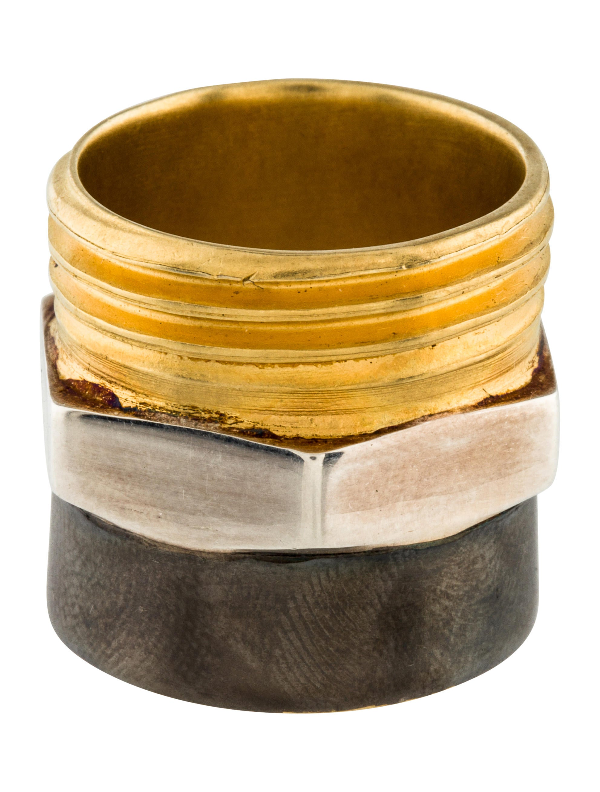 Maison Margiela Plumbing Ring - Rings - MAI32107 | The RealReal
