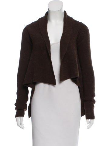Maison Martin Margiela Alpaca & Wool-Blend Cardigan None