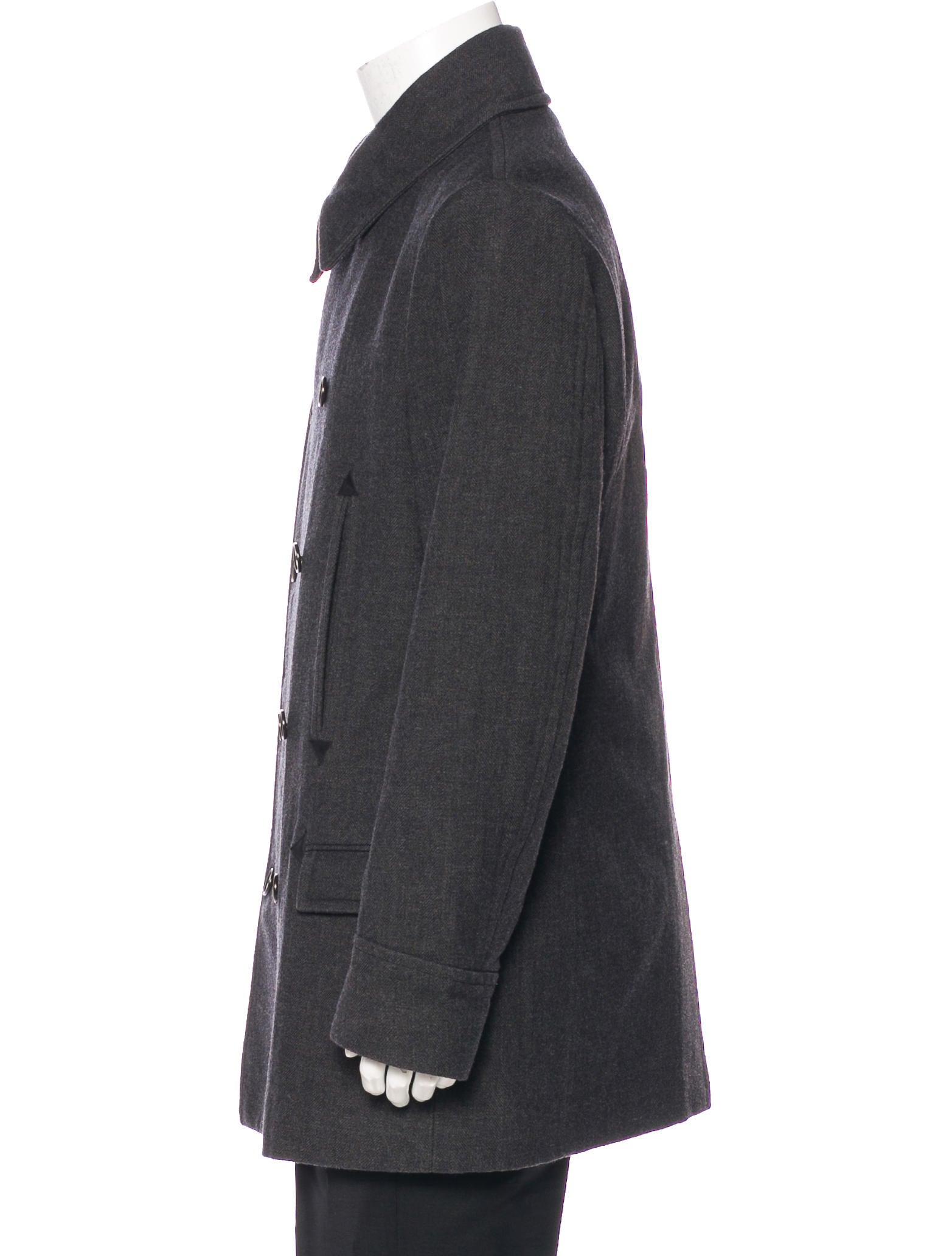Maison Margiela Replica Double Breasted Peacoat Clothing