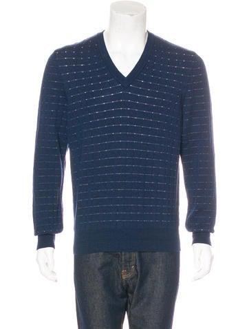Maison Margiela Wool Waffle Sweater None