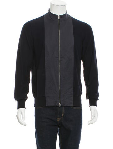 Maison Margiela Zip-Up Sweater None