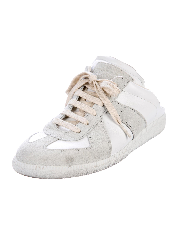 maison margiela replica sneaker mules shoes mai32372 the realreal. Black Bedroom Furniture Sets. Home Design Ideas