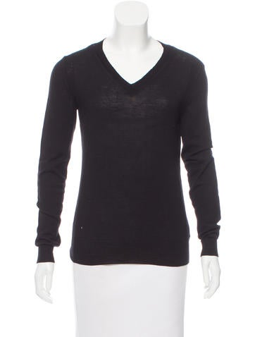 Maison Margiela V-Neck Wool Sweater None