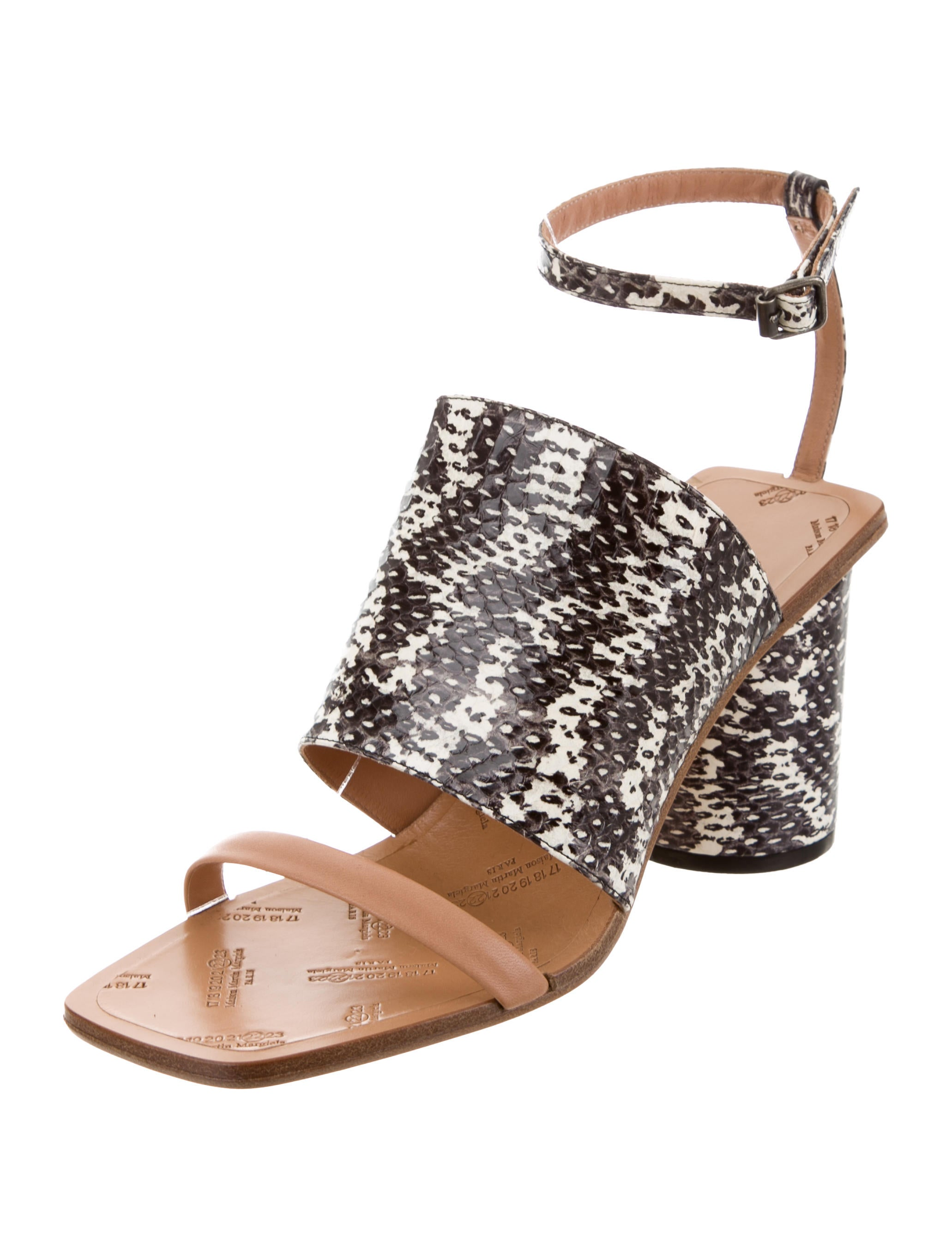 Maison Margiela Alina Ankle Strap Sandals w/ Tags cheap sale good selling cheap sale looking for free shipping exclusive clearance 2014 new eE9LMC1a