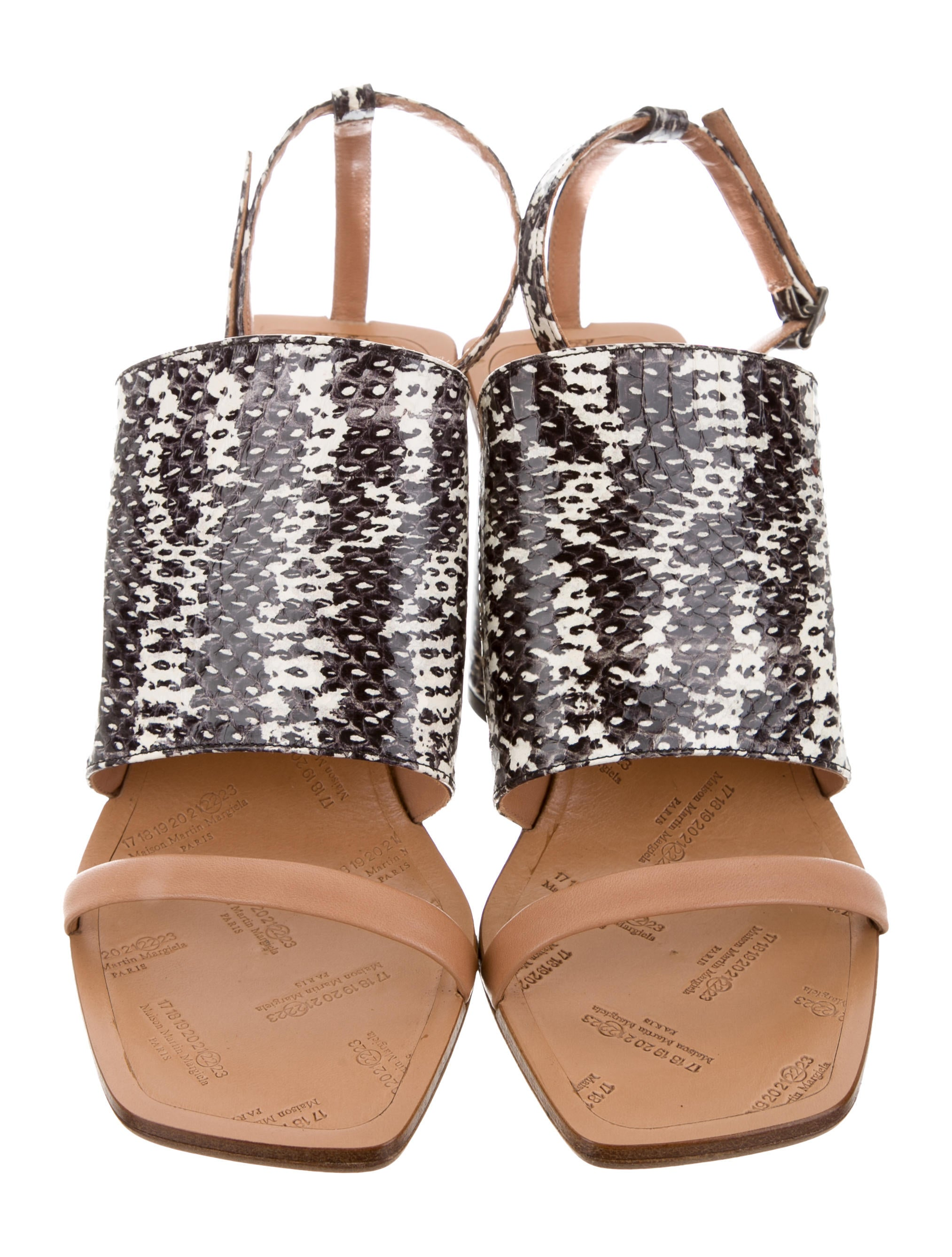 supply for sale free shipping for nice Maison Margiela Alina Ankle Strap Sandals w/ Tags XUr4mjEG