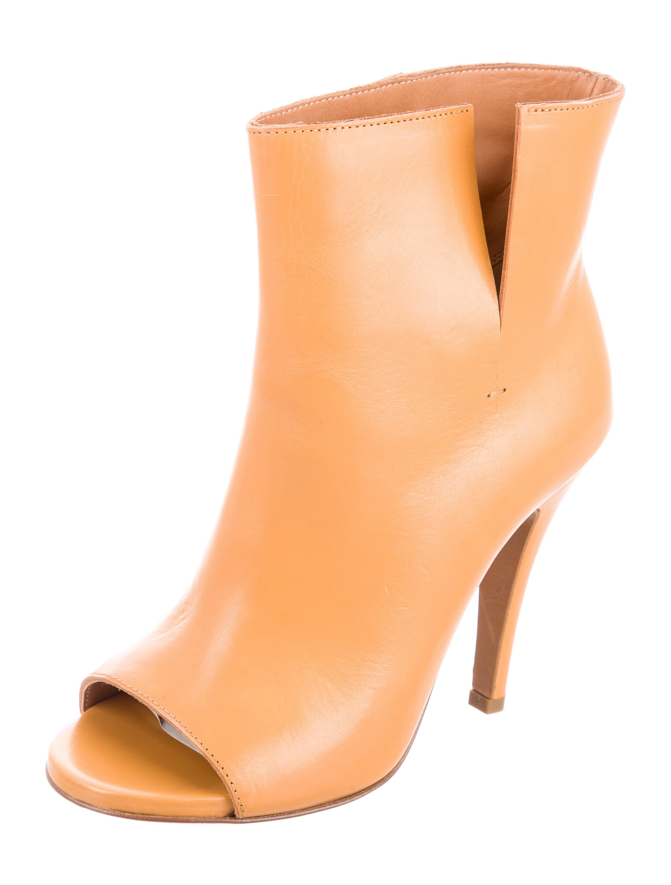 Maison Margiela Hessen Peep-Toe Ankle Boots cheap sale clearance store 100% guaranteed cheap price really sale online cheap order kN49Zx