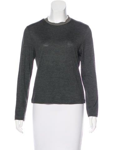 Maison Margiela Wool & Silk Top None