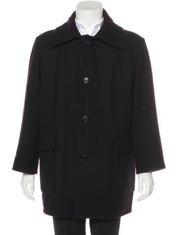 Maison Margiela Wool Overcoat None