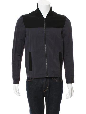 Maison Margiela Rib Knit-Accented Bomber Jacket None