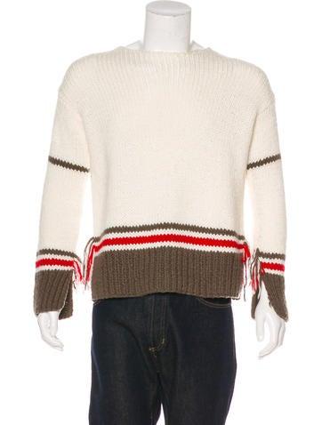 Maison Margiela 2017 Wool-Blend Fringe Sweater w/ Tags None