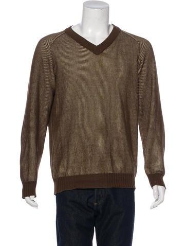 Maison Margiela V-Neck Sweater None