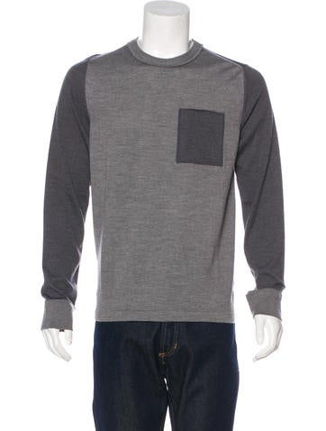 Maison Margiela Wool Colorblock Sweater w/ Tags None