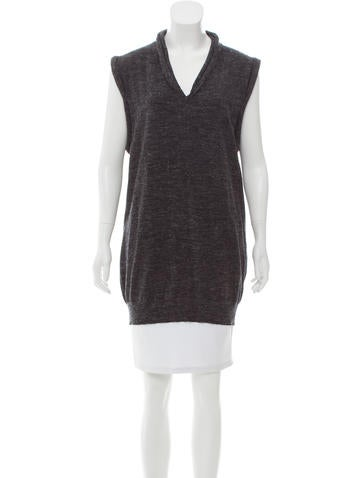Maison Margiela Knit Sleeveless Top None