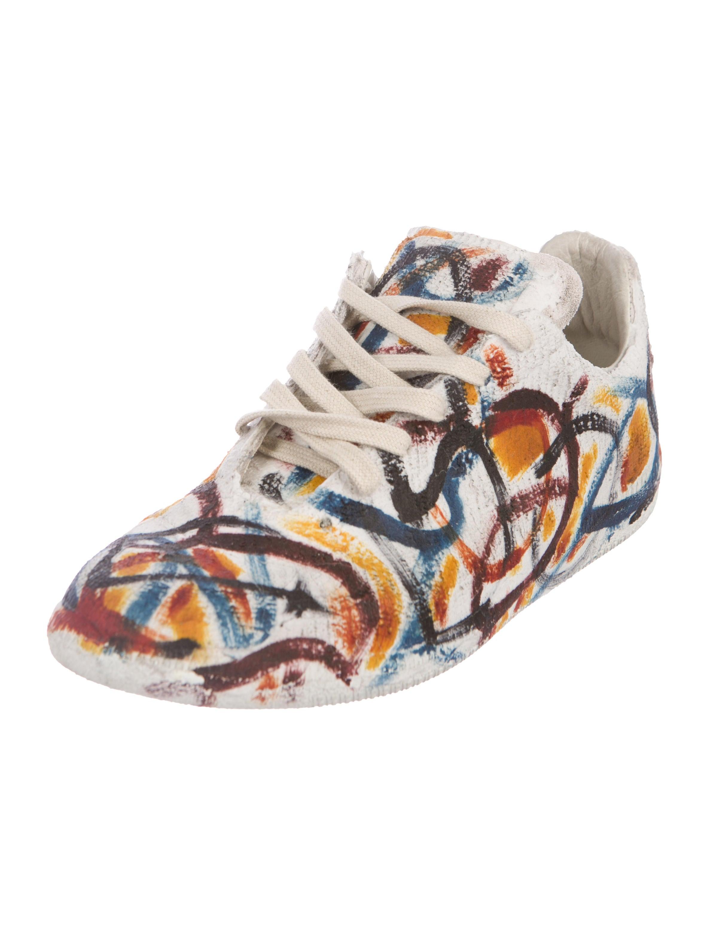 Maison Margiela 2016 Graffiti Replica Sneakers Shoes MAI