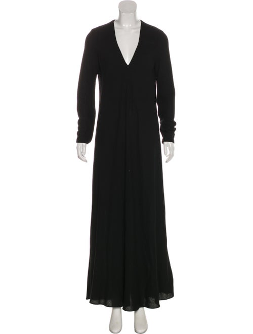 Maison Margiela Maxi Knit Dress Black