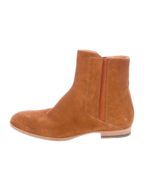 Maison Margiela Suede Chelsea Boots cognac