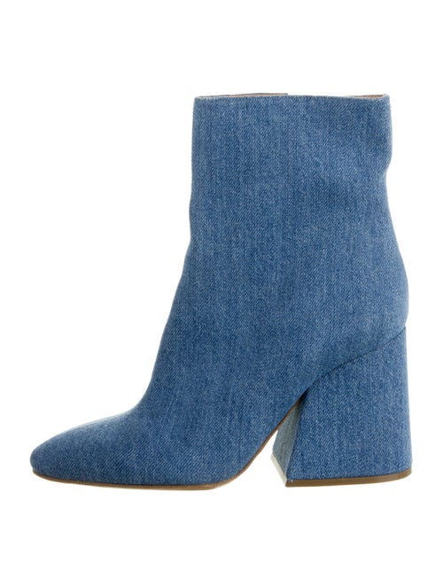 Maison Margiela Denim Ankle Boots denim