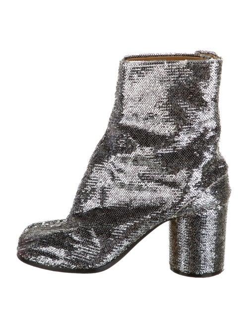 Maison Margiela Tabi Boots Silver