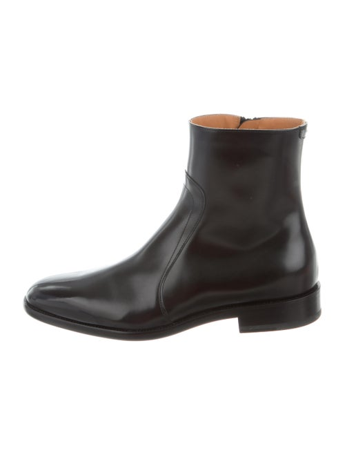Maison Margiela Leather Boots Black