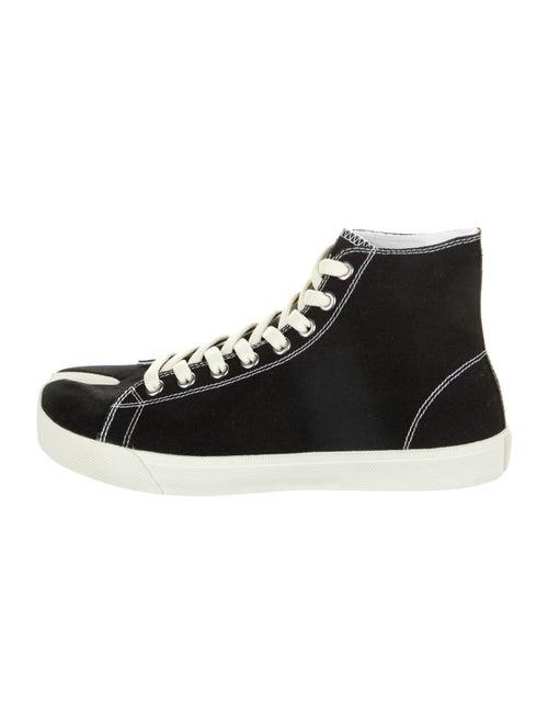 Maison Margiela Tabi High Sneakers Black