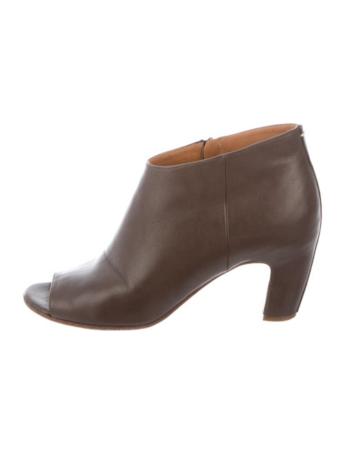Maison Margiela Leather Boots Brown