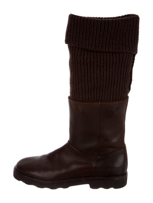 Maison Margiela Sock Boots Brown