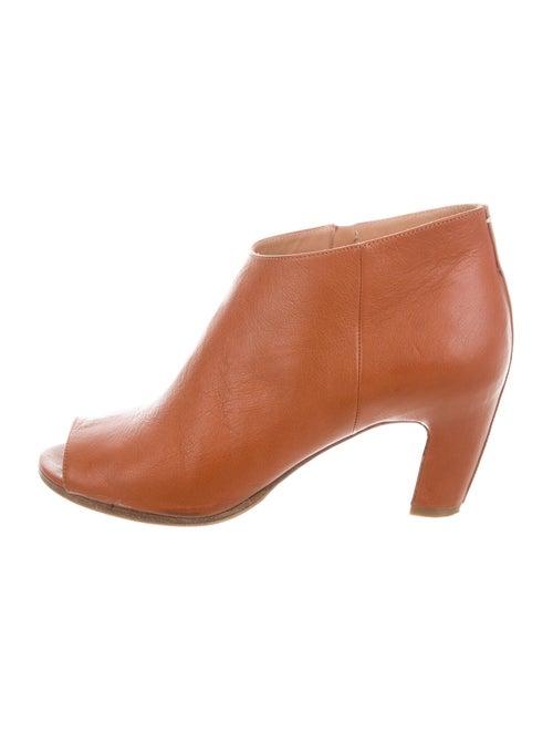 Maison Margiela Leather Boots Brown