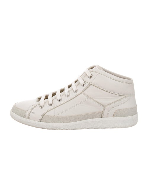 Maison Margiela Leather Sneakers White