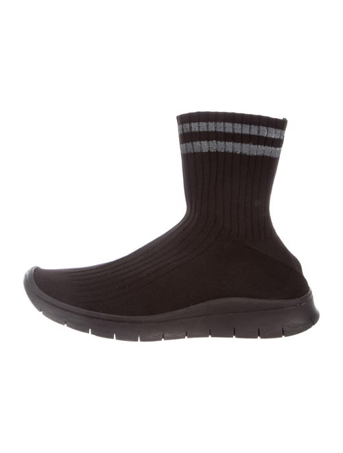 Maison Margiela Printed Sock Sneakers Black